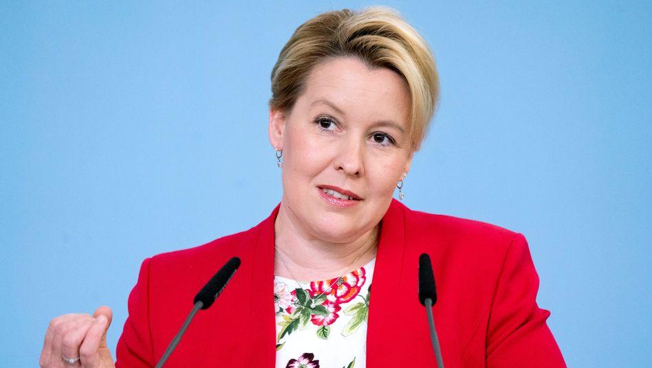 """Bundesfrauenministerin Giffey wollte 2020 zum """"Jahr der Gleichstellung"""" machen - derzeit sieht es eher nach Ungleichstellung aus"""