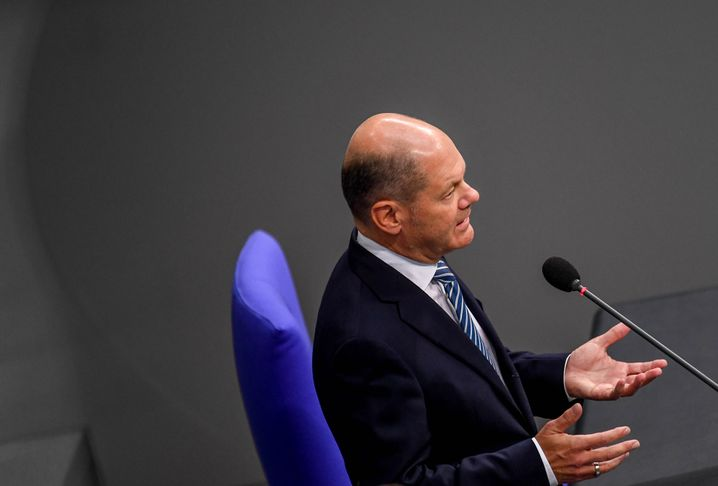 Finanzminister Scholz: Die schwarze Null steht für ihn nicht zur Debatte