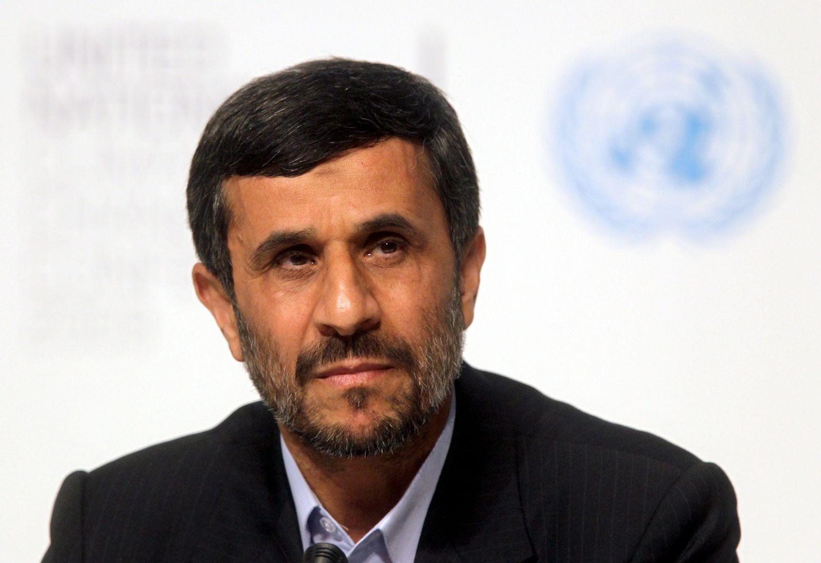 Diktatoren in London / Ahmadinedschad