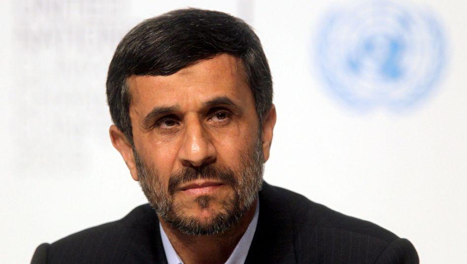 """Irans Präsident Ahmadinedschad: """"Schwäche und Missbrauch der Freiheit"""""""