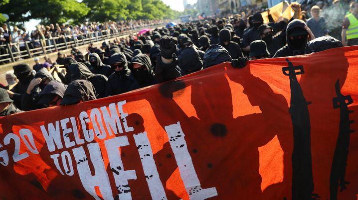 Proteste auf dem G20-Gipfel in Hamburg