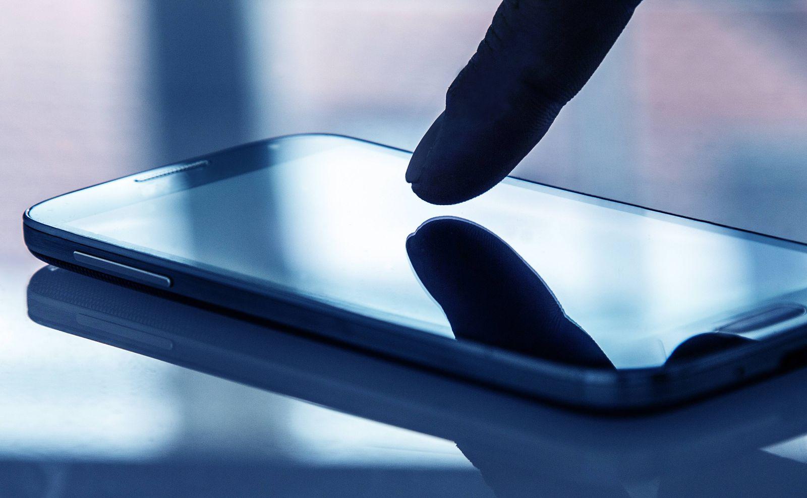 EINMALIGE VERWENDUNG Smartphone