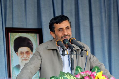 Iranian President Ahmadinejad will try to buy time.