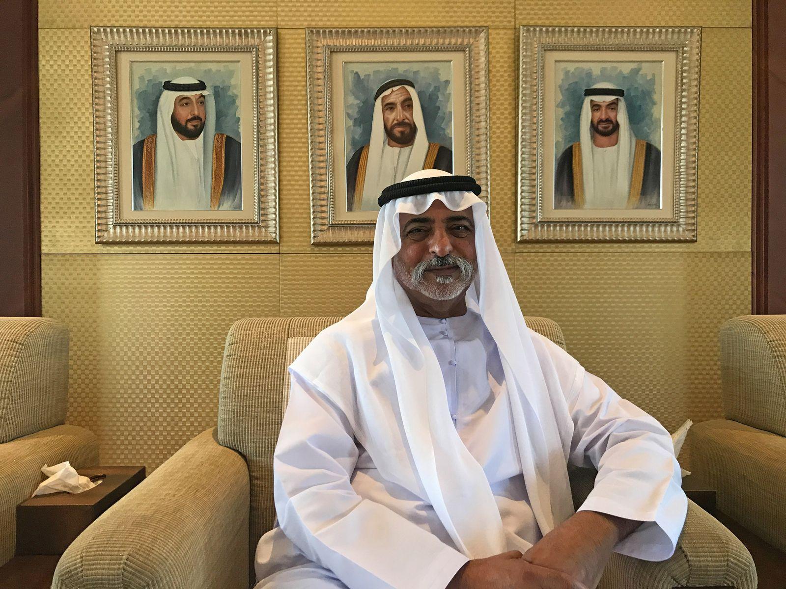 Scheich Nahjan bin Mubarak Al Nahjan
