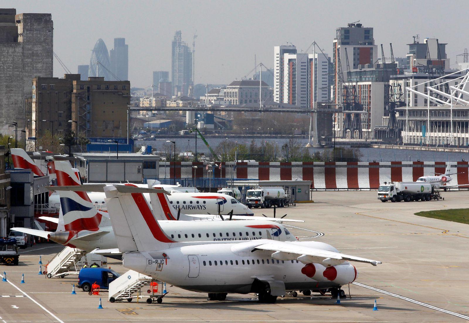 Londoner Flughäfen / City Airport