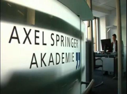 Axel Springer Akademie: Bitte eintreten, aber nur, wer nicht fremdelt