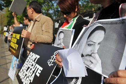 Verurteilt und hingerichtet: Darabi wurde am Freitag gehängt
