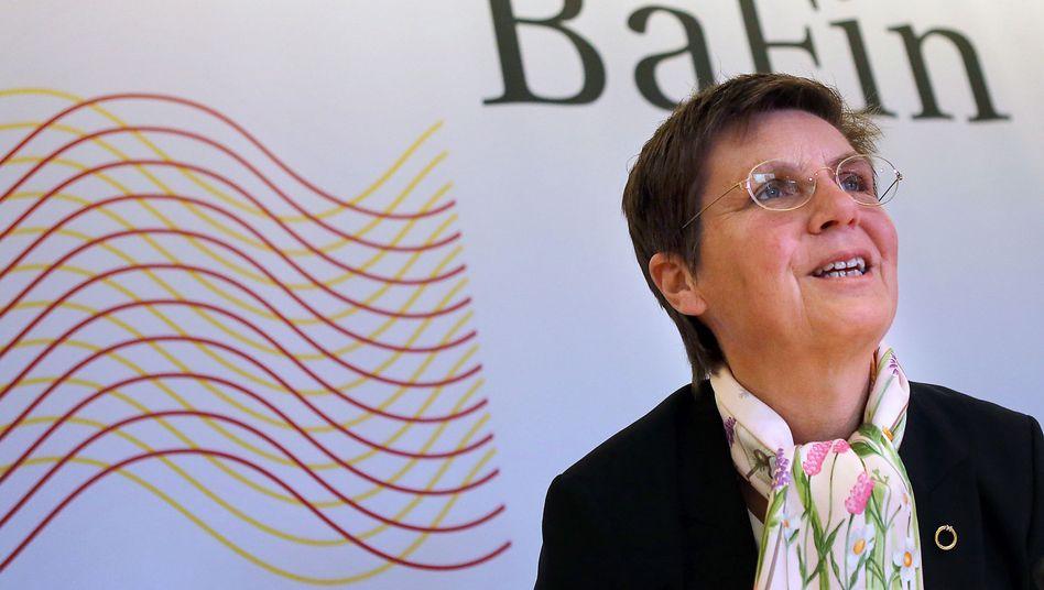 """BaFin-Chefin König: """"Wir brauchen ein globales Regelwerk"""""""