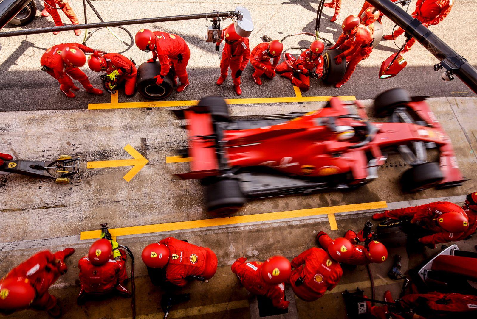 Motorsports: FIA Formula One World Championship, WM, Weltmeisterschaft 2020, Grand Prix of Spain, 5 Sebastian Vettel (G