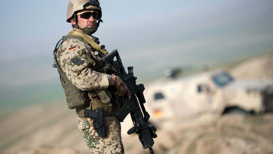 Bundeswehrsoldat mit G36: Negative Berichte verhindern