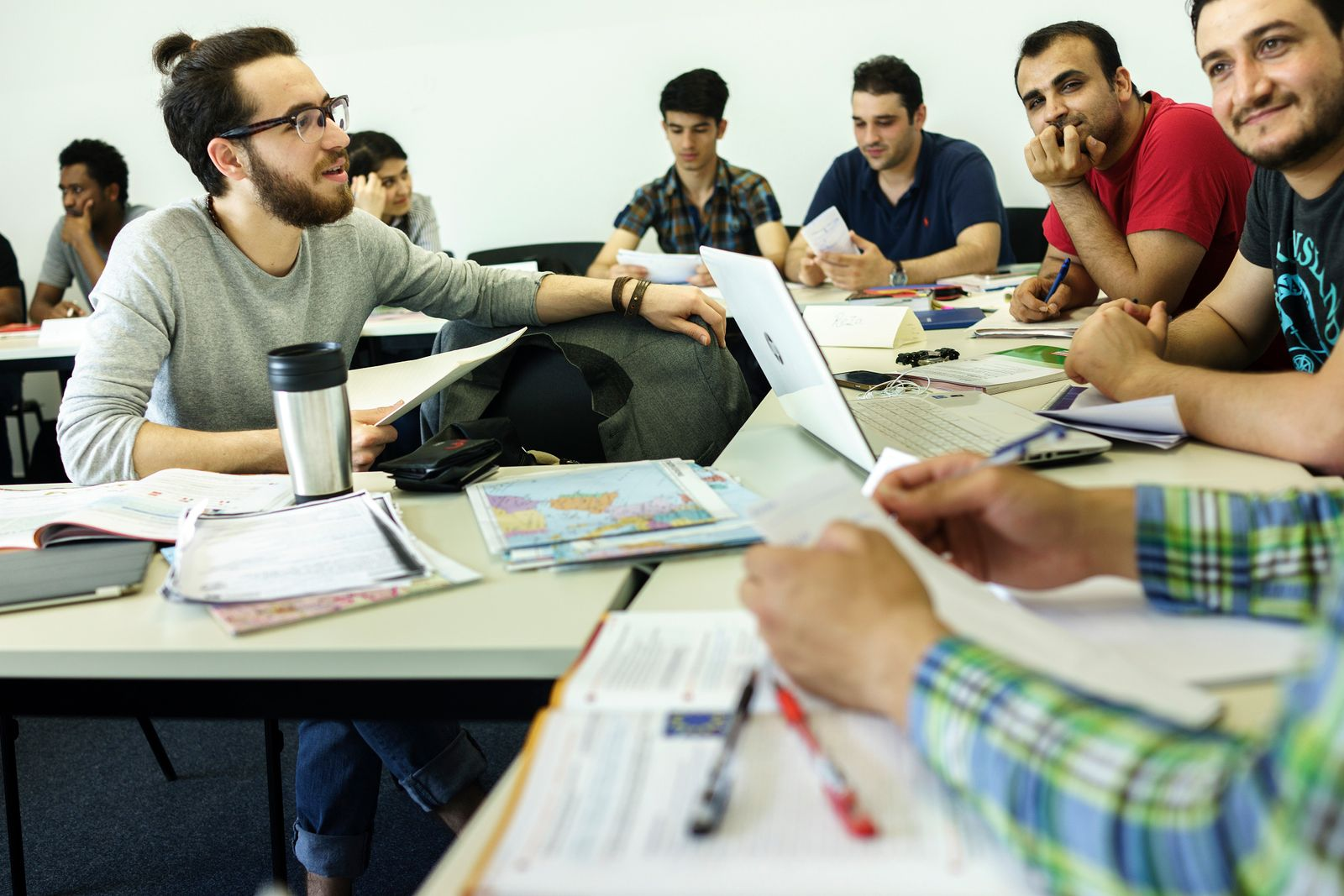 Flüchtlinge / Ausbildung / Studium