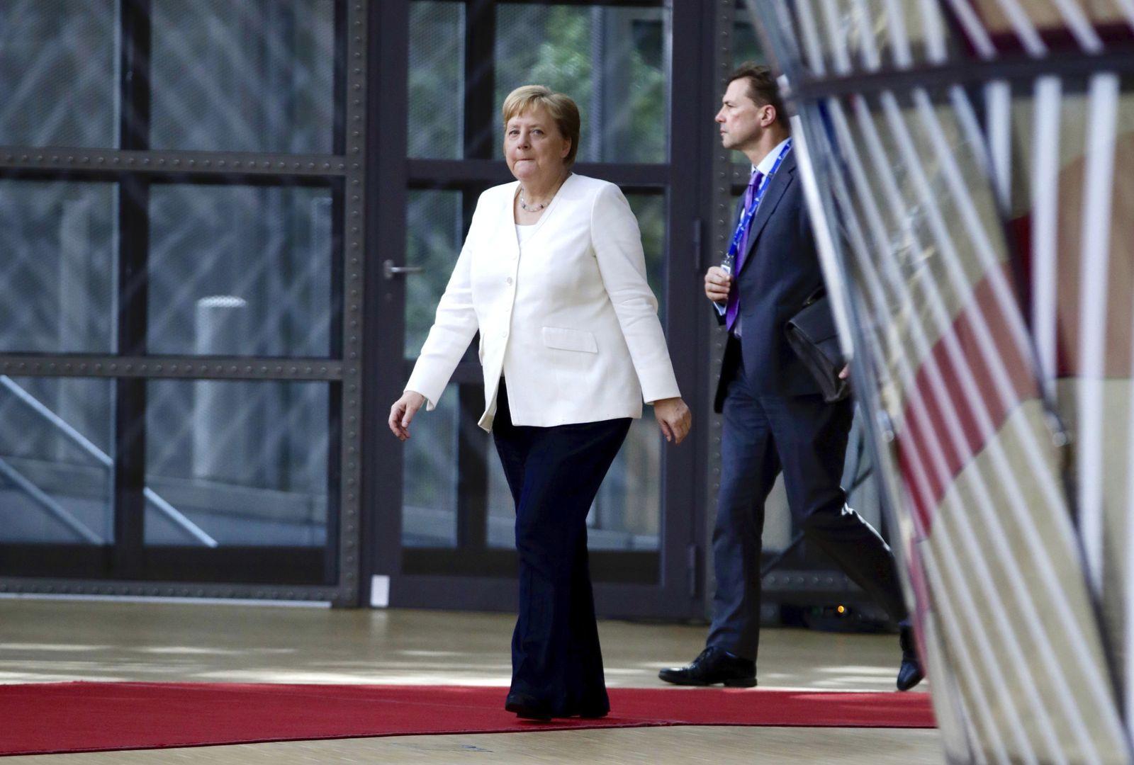 Merkel EU Summit