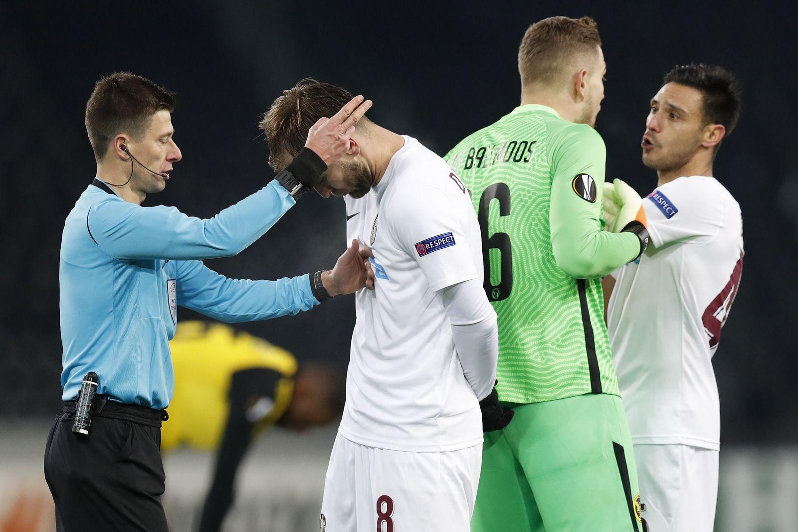 Young Boys Bern vs CFR Cluj, Switzerland - 10 Dec 2020