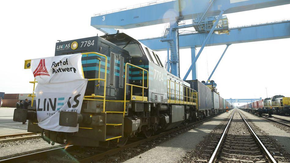 Chinesischer Güterzug