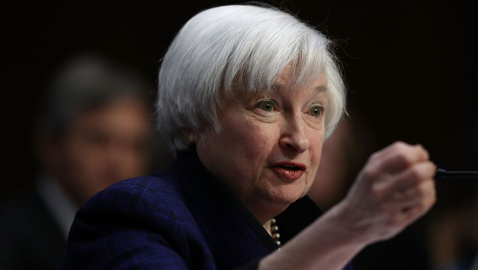 US-Notenbankchefin Janet Yellen