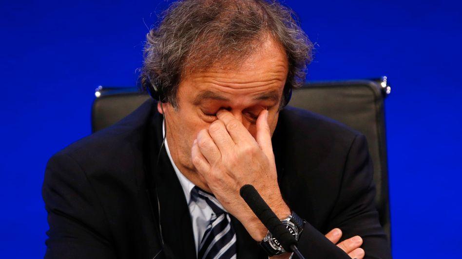 Uefa-Boss Platini: Nie wieder ein Amt im Fußball?