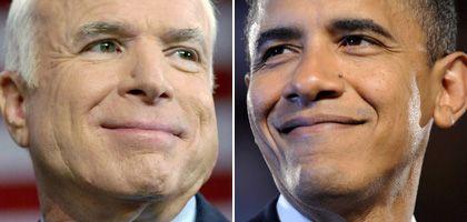 John McCain and Barack Obama: Not just Republican against Democrat.
