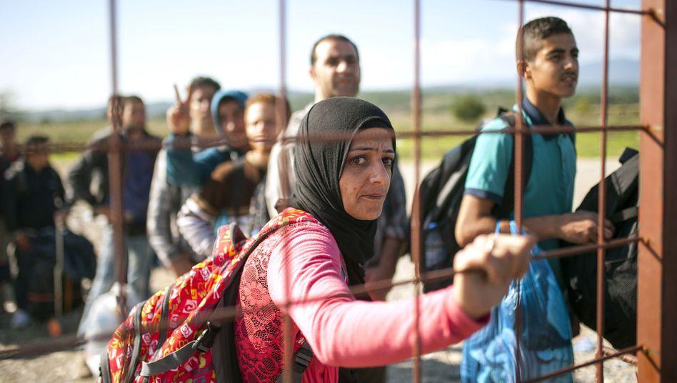 Flüchtlinge an der griechisch-mazedonischen Grenze: Abschottung funktioniert nicht