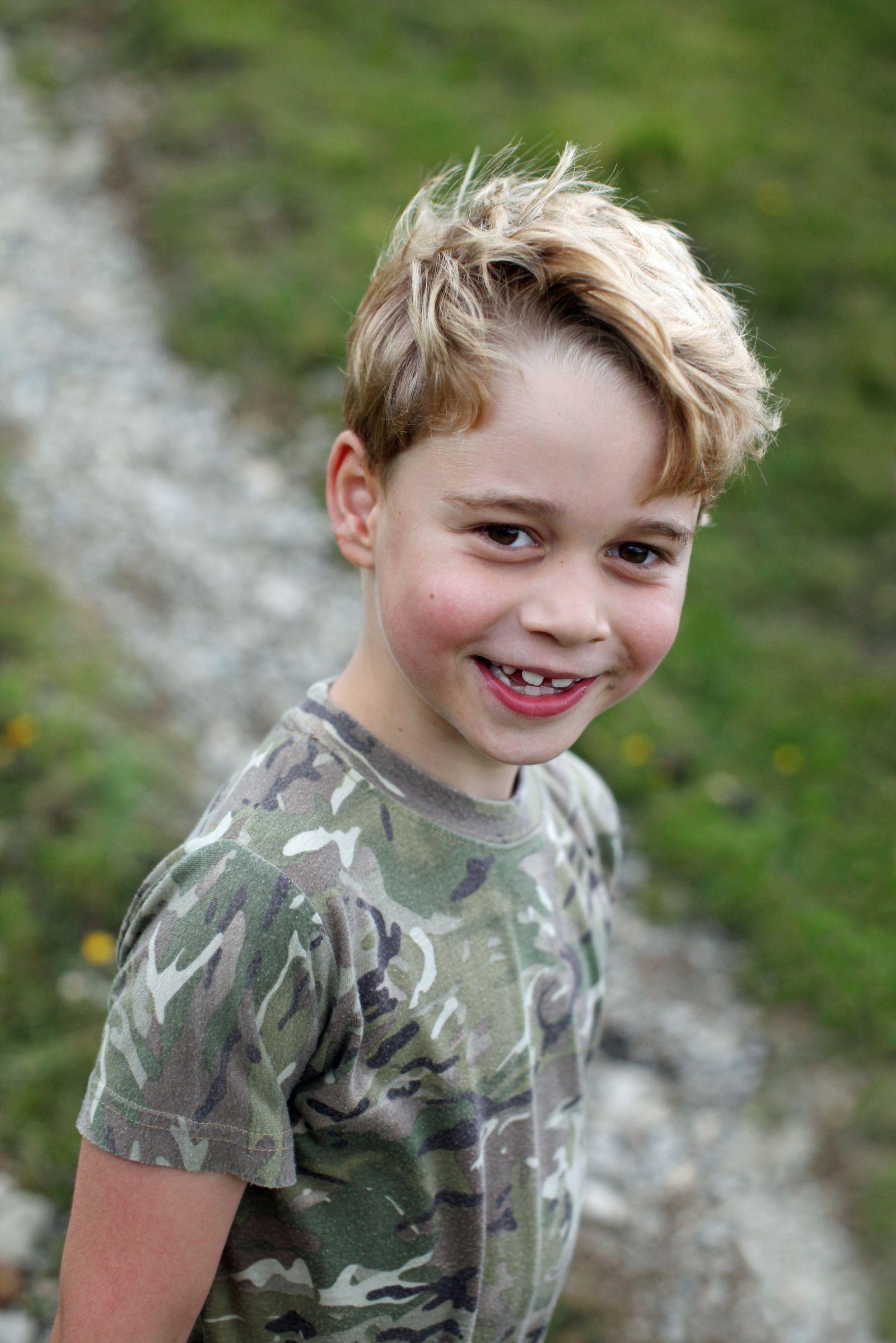 Prince George Of Cambridge Turns 7