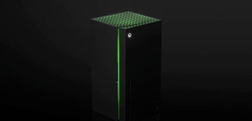 Xbox Series X: Microsoft verkauft bald Mini-Kühlschrank im Series-X-Design