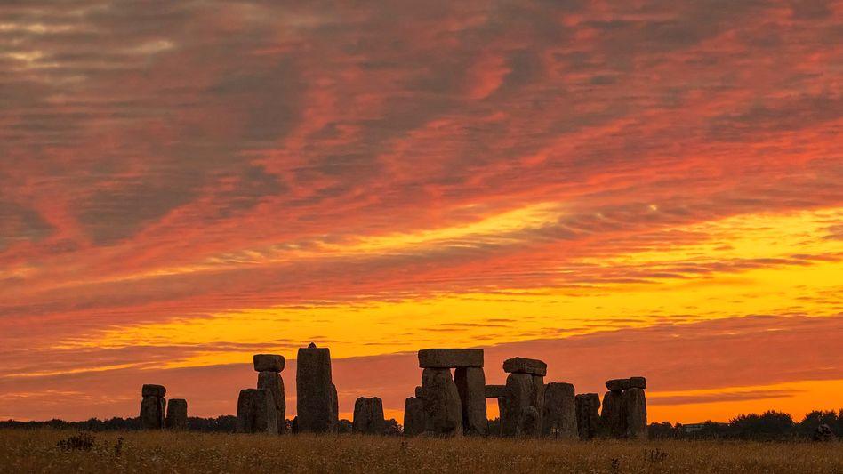 Stonehenge bei Sonnenaufgang