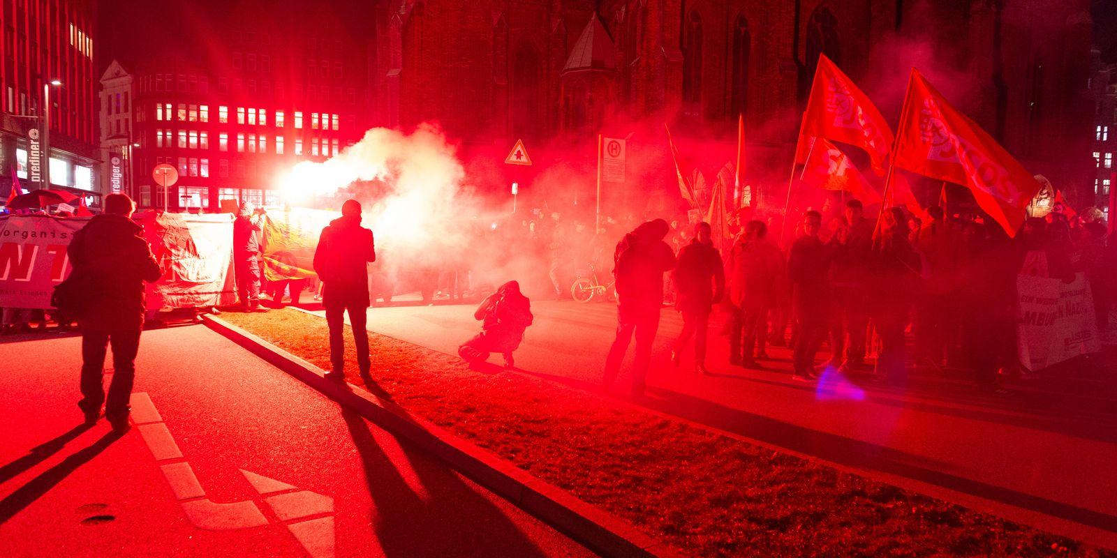 Ministerpräsidentenwahl Thüringen - Proteste