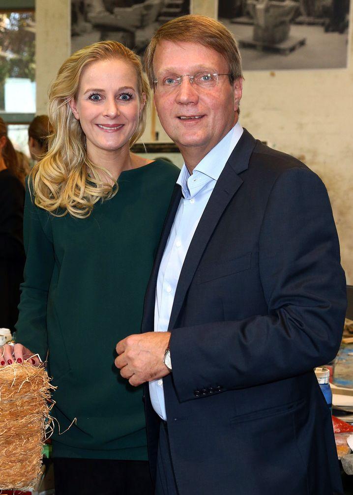 Mit Partnerin in Berlin 2012