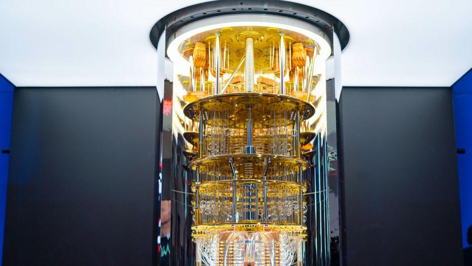 Ein IBM-Quantencomputer der Serie Q System One