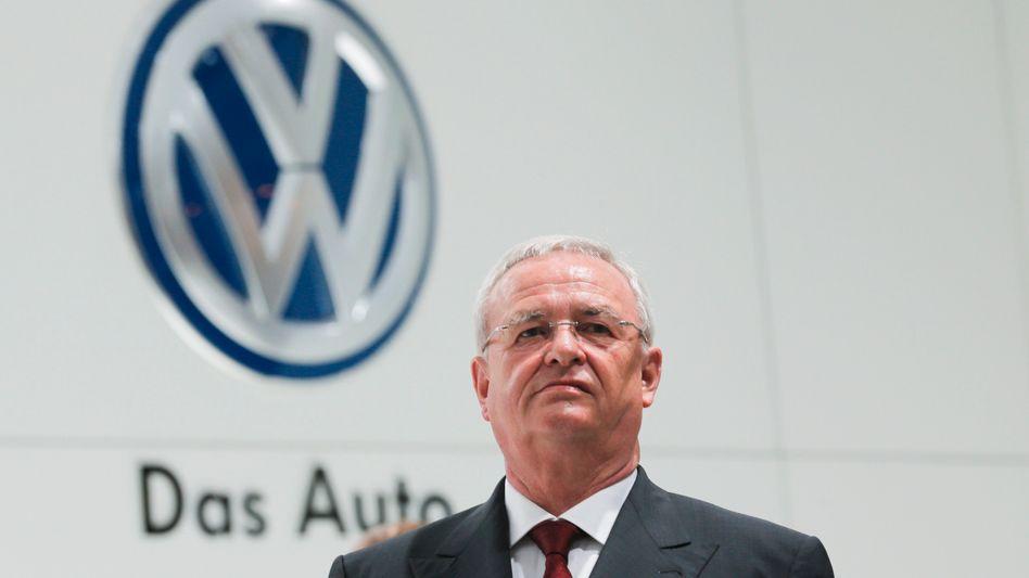 """VW-Chef Winterkorn:""""Wir haben das Vertrauen unserer Kunden enttäuscht"""""""