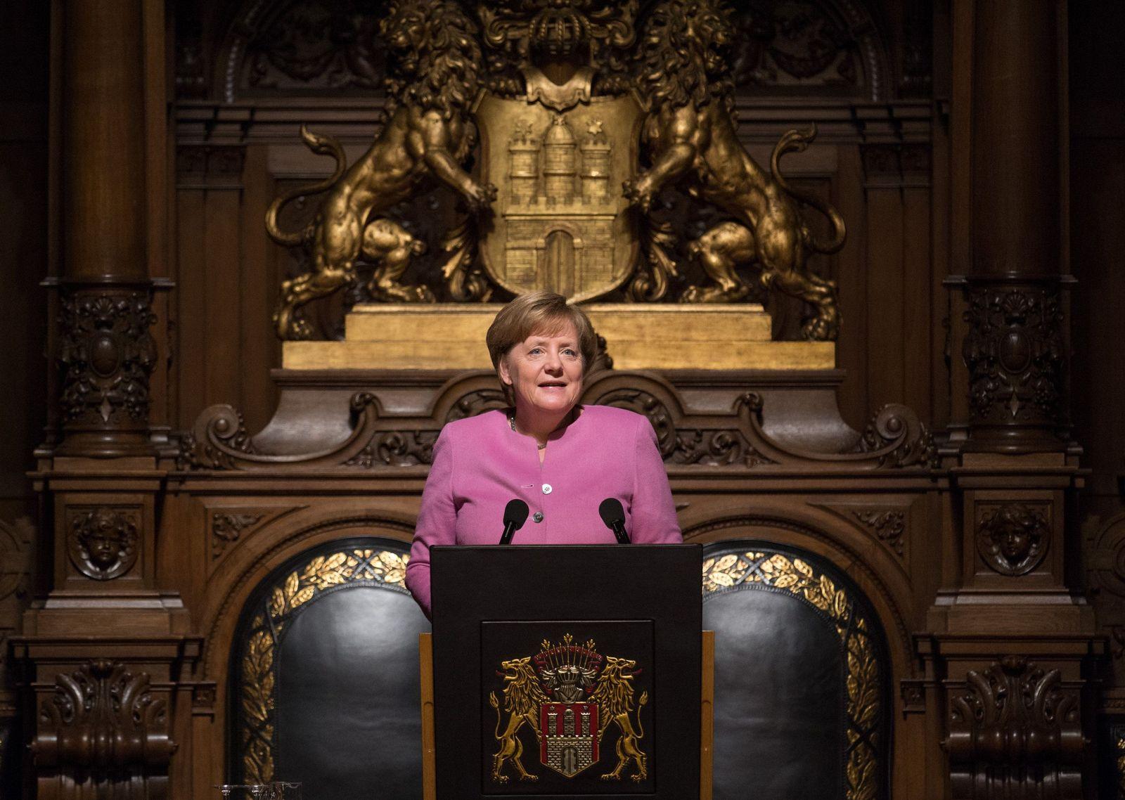 68. Übersee-Tag / Merkel