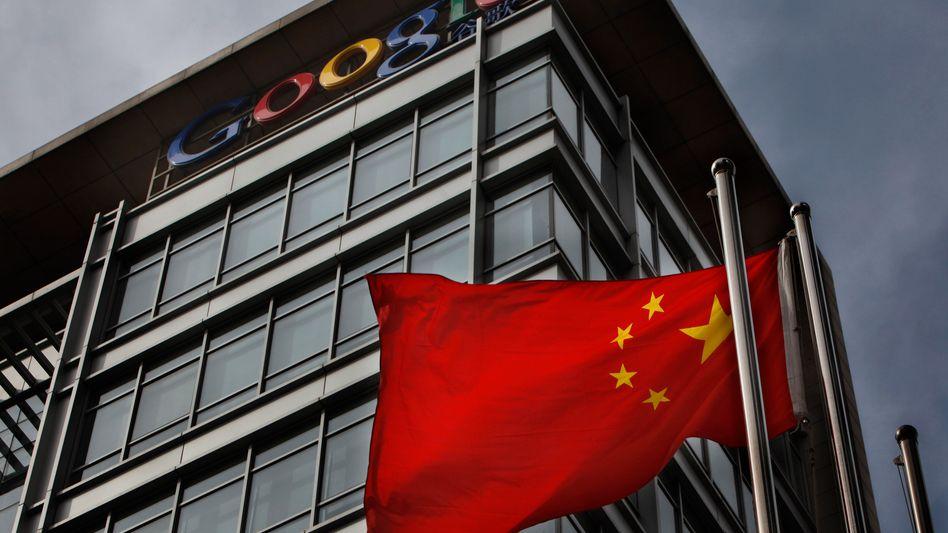 Google-Büro in China: Die Zensoren schlugen zurück