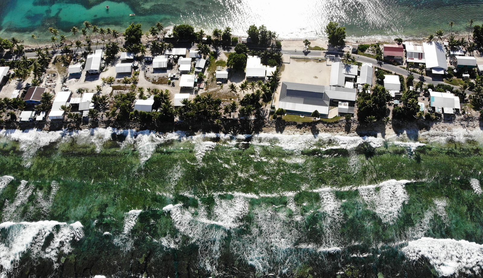 Rising Sea Levels Threaten Coral Atoll Nation Of Tuvalu