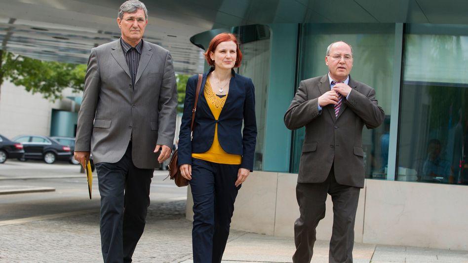 Linken-Politiker Gysi (Archivbild): Fordert Aufnahme von Ermittlungen