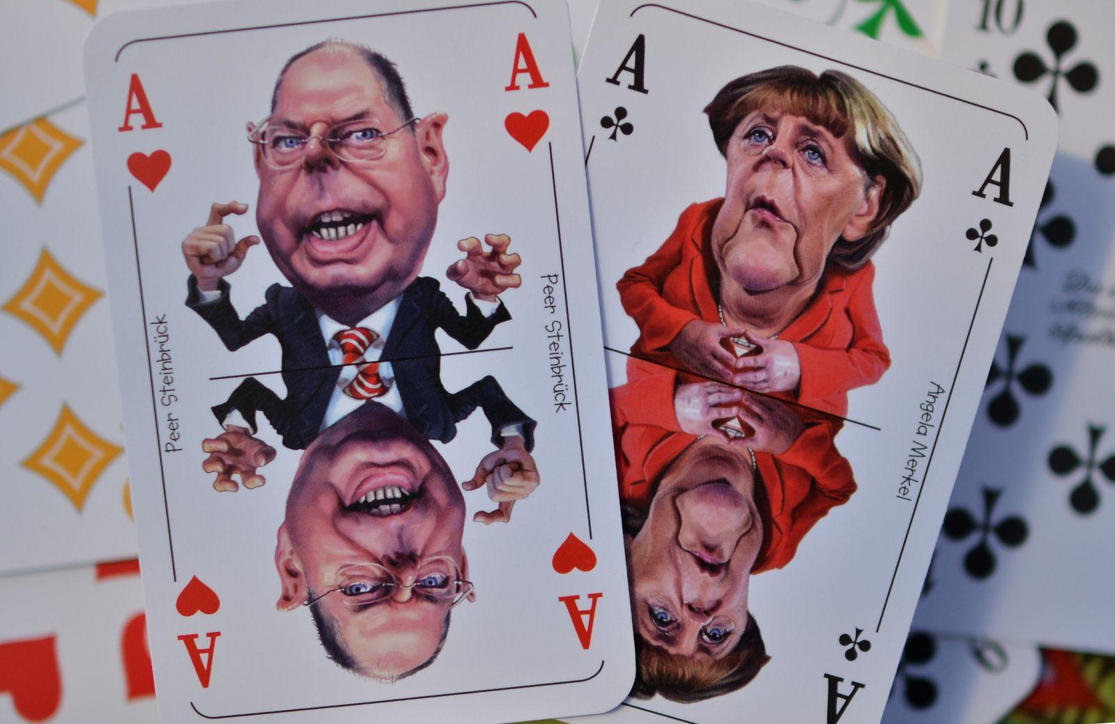 Politiker Spielkarten