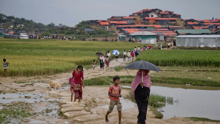 Rohingya in Bangladesch: Flucht ins Ungewisse