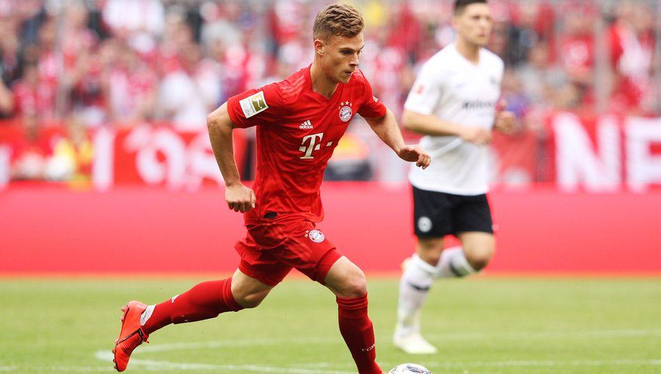 Bayern Münchens Joshua Kimmich bereitete beim 5:1-Sieg gegen Eintracht Frankfurt einen Treffer vor