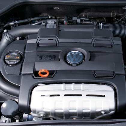 Motor des neue VW Golf VI: Ich war ein Palast der Republik