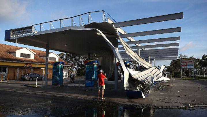 "Hurrikan erreicht Florida: ""Irma"" flutet Miami"