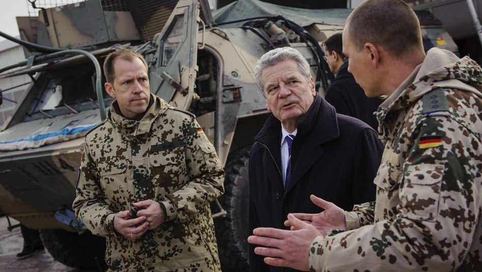 Bundespräsident Gauck: Dem Volk nicht hinterherlaufen