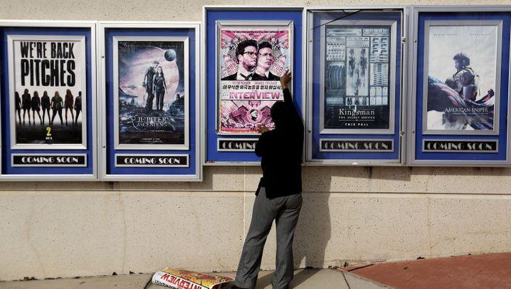 """Abgesagte Premiere von """"The Interview"""": Sony knickt ein"""