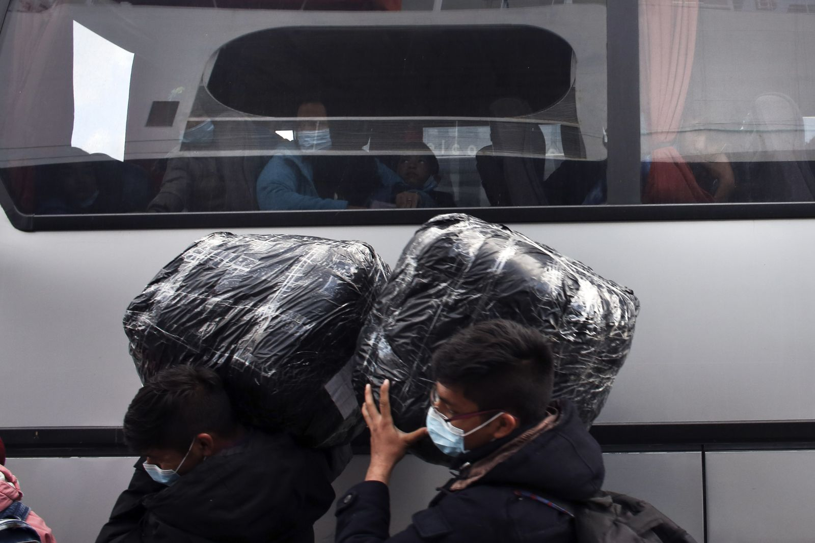 Migrants From Lesbos Arrive In Athens