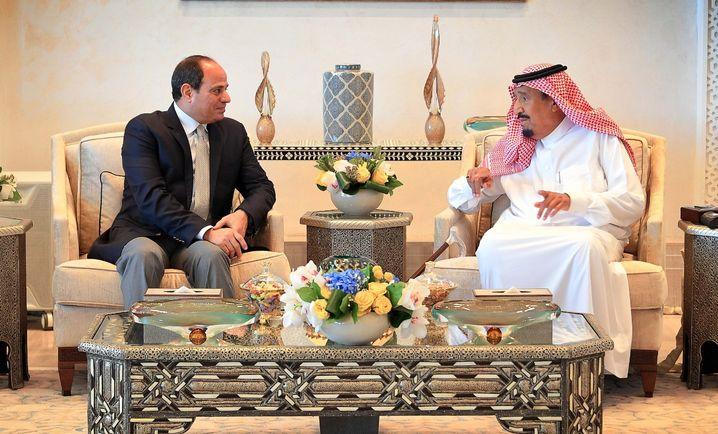 Ägyptens Staatschef Sisi zu Gast bei König Salman in Saudi-Arabien