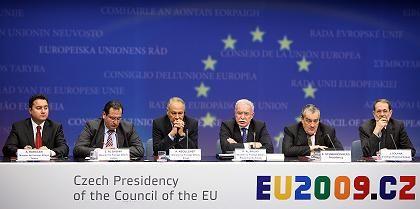 """EU-Außenminister in Brüssel: """"Wiedervereinigung der Palästinenser"""""""
