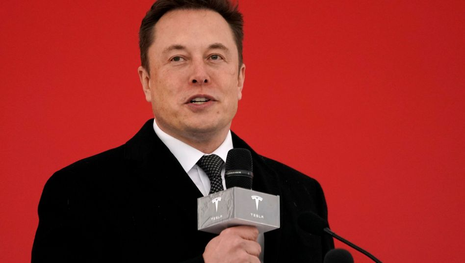 Elon Musk (Archiv)