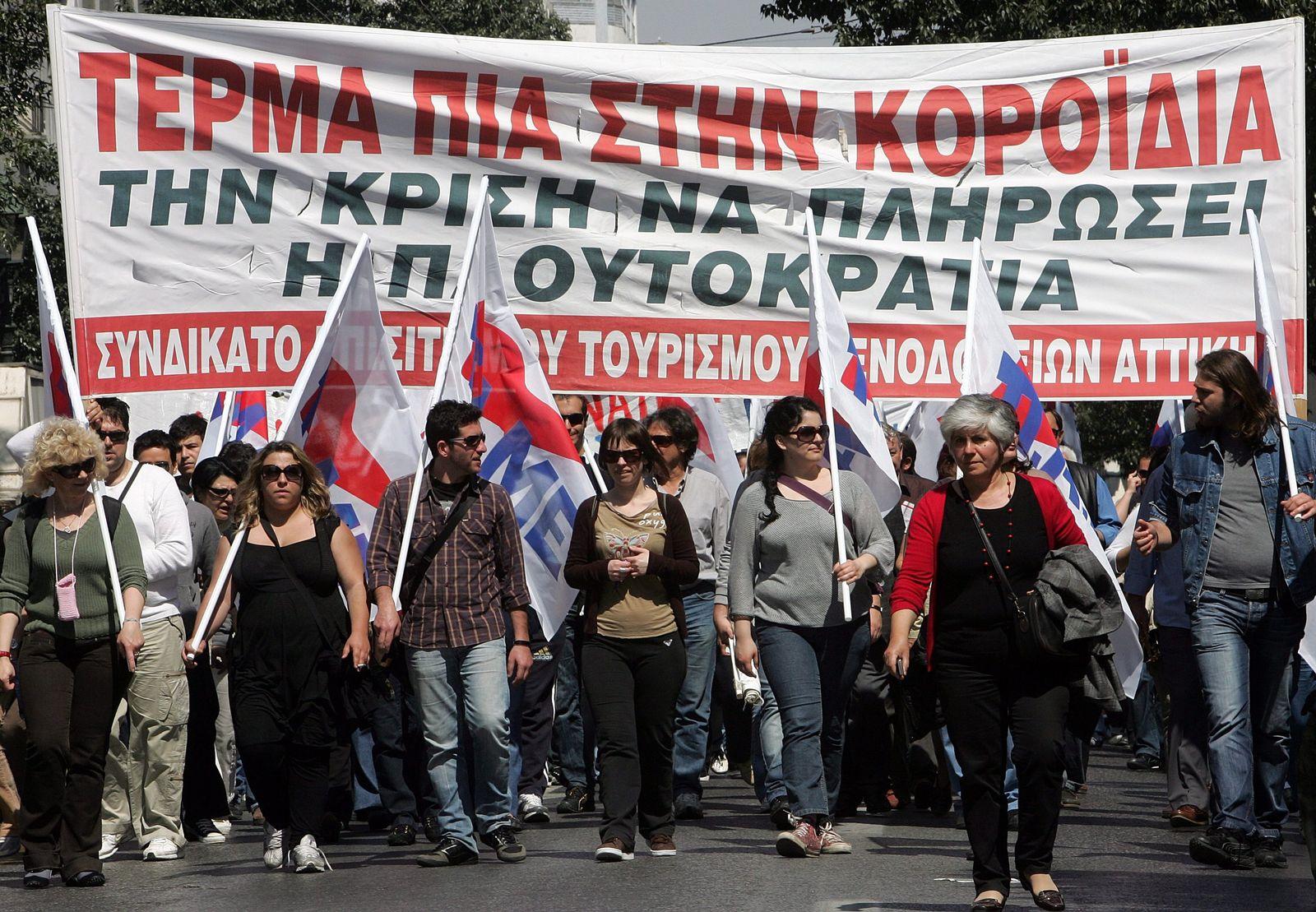 Griechenland / Sparmaßnahmen