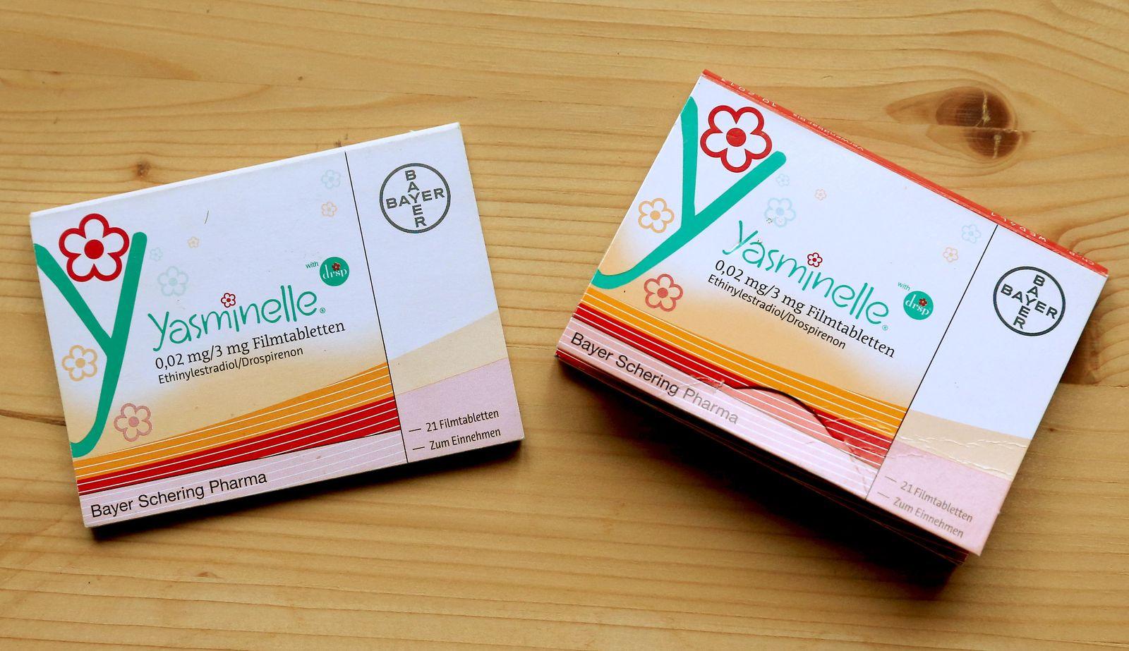 Klage gegen Bayer Pille Yasminelle