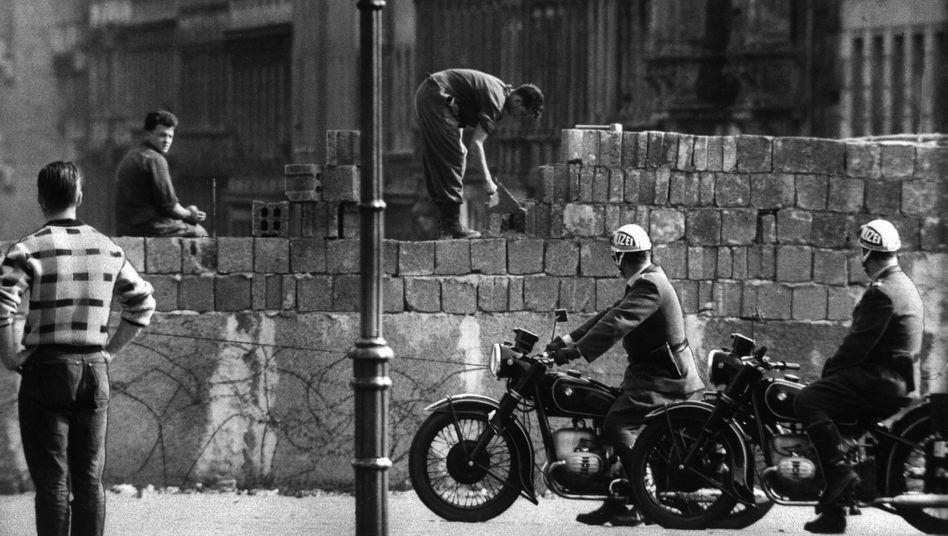 Sektorensperre in Berlin 1961: Die Mauer in den Köpfen