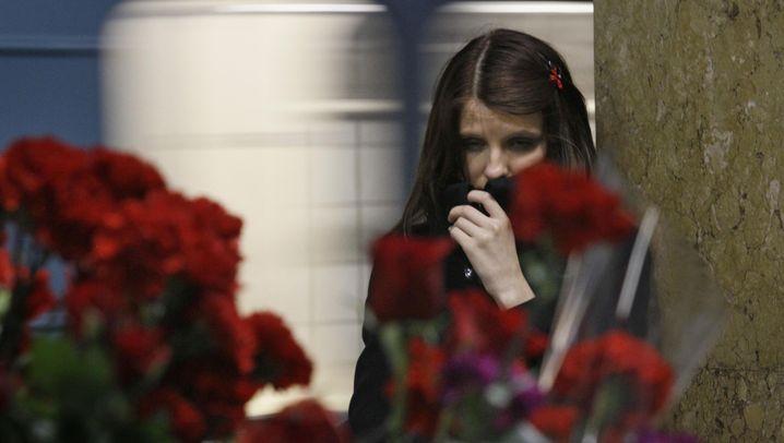 Metro in Moskau: Anschläge in der Rushhour