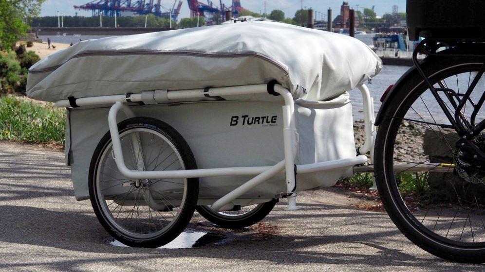 Fahrrad-Caravan B Turtle: Ein Anhänger für alle Fälle