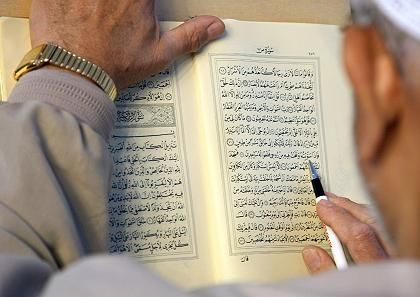 For Muslims, the Koran is the unadulterated word of God.